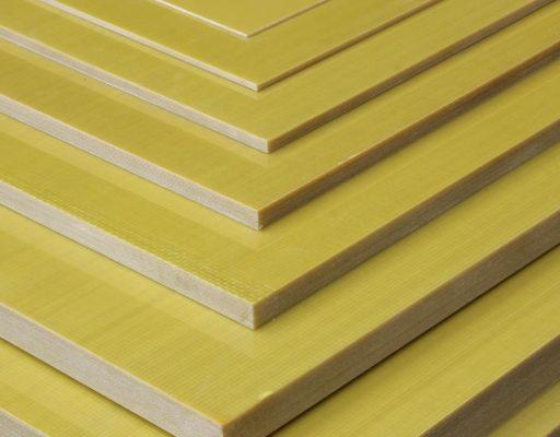 Стеклотекстолит СТЭФ листовой 1000×1000 мм разной толщины от 0,35 мм до 70 мм